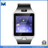 Teléfono elegante del reloj del reloj Dz09 de la nueva tarjeta elegante de la manera SIM
