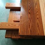 Plancher de bois franc Plancher de bois privatif chêne rouge / chêne blanc