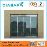 Portas de vidro de deslizamento automáticas comerciais com certificação do GV