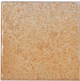 azulejo esmaltado rústico de la porcelana del lustre blanco de 100X100m m para la pared y el suelo