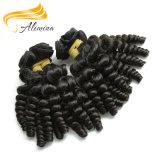 Человеческие волосы 100% девственницы на волосах Remi богини сбывания