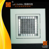 Luftkanal-flexible Rückholluft-Gitter runde Eggcrate Gitter für Decke