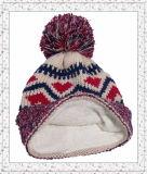 Webart gestrickter Beanie-Hut mit Vlies innerhalb des Winter-Hutes für Mädchen (1-3469)