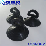 Cuvettes en plastique noires d'aspiration avec des boucles pour le guichet de véhicule