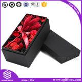 Cadre de empaquetage en cuir de fleur réutilisé par coutume à extrémité élevé