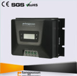 Controlador solar 48V 12V 24V 36V da carga da pilha do lítio de Fangpusun MPPT 60A
