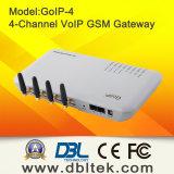 4 GSM van de haven/van de Kaart Channel/SIM Gateway GoIP4