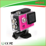 170 Grad-Umdrehung WiFi drahtlose Sport-Vorgangs-Kamera 4k