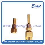 La industria de cristal de la Termómetro-V-Dimensión de una variable Termómetro-Expide el uso Thermomter