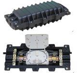Al aire libre impermeabilizar el encierro óptico horizontal 2in-2out del empalme de fibra de 96 bases
