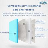 De acryl Stevige Freestanding Badkuip van de Oppervlakte