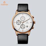 Watch72375 de los hombres del acero inoxidable del reloj del cuarzo de los relojes de manera