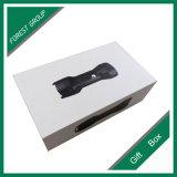 Черным напечатанная логосом коробка слоения Matt белая