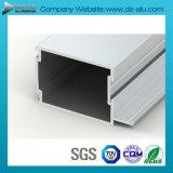 Profil de l'aluminium 6063 de l'Afrique du Sud pour la porte coulissante de tissu pour rideaux de guichet