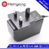 Energy-Saving de Vrije Adapter van de Macht van Steekproeven 24W 12V 2A AC gelijkstroom