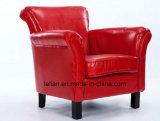 Cadeira do sofá do couro da mobília do sofá do projeto moderno única (LL-BC081)