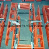 Andamio galvanizado del marco principal de la INMERSIÓN caliente