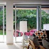 Бело/черноты/серо цвета/двери сползая стекла рамки Brown алюминиево