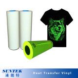 Großhandelshochtemperatur Belüftung-PU-Shirt-Wärmeübertragung-Vinyl