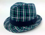 Chapeau de chapeau feutré avec le tissu Onshell (YGF039) de vérification