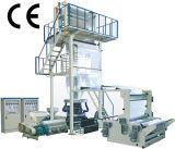 Máquina de sopro da película plástica do PE do polietileno com extrusora, dispositivo do rebobinamento da tração