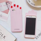 iPhone Phoen 케이스 3ce 전화 상자 (XSF-074)를 위한 아름다운 Makeups 시리즈 립스틱 못 종려 실리콘 셀룰라 전화 상자 (XSF-075)
