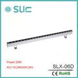 luz de 9-36W IP65 LED Wallwasher con solos color y RGB para la iluminación al aire libre
