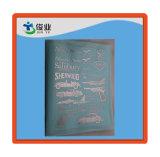 Placa de identificación del metal, etiqueta engomada adhesiva de la insignia 3D, etiqueta autoadhesiva del metal con pegamento de apoyo de los 3m
