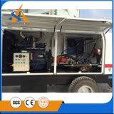 Bomba concreta del acoplado hidráulico del motor diesel
