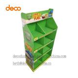 Le professionnel rident l'étalage de papier de carton pour l'étalage promotionnel de produits