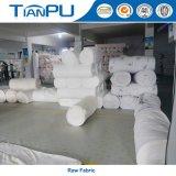 Tela que hace tictac 100% del colchón del poliester 180-500GSM con insignia modificada para requisitos particulares del telar jacquar