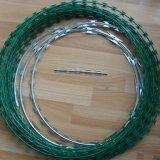 かみそりワイヤーまたはかみそりの有刺鉄線/PVC上塗を施してあるかみそりのBabedワイヤー