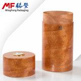 Bequeme Einfachheits-zylinderförmiger hölzerner Zigarre-Geschenk-Kasten