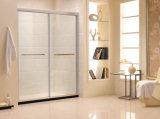 Австралийская дверь Tempered стекла ванной комнаты стандартной рамки (K12)