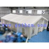Belüftung-Plane-aufblasbares Hochzeits-Zelt für Ereignis/kuppelförmiges aufblasbares kampierendes Zelt