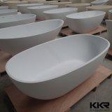 Bath autonomes de forme de pierre ovale de résine