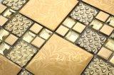 8mm Epaisseur Ice Crackle Mosaïque en verre mosaïque à Foshan (AJT121)