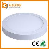 30W cuadradas y redondas del panel LED de iluminación LED de la lámpara de techo de aluminio caja de CE RoHS