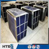 Les pièces d'échangeur de chaleur ont émaillé le panier ondulé de feuille pour la chaudière de centrale électrique