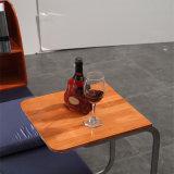 韓国様式の居間の家具- Fb8040Aのための現代本革のソファーベッド