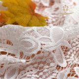 Il merletto Timbo dei vestiti da cerimonia nuziale del vestito da cerimonia nuziale della fessura della parte anteriore ha modellato, breve merletto dei vestiti da cerimonia nuziale della spiaggia