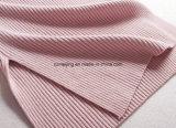 Vêtements roses de cavalier tricotés par S de `de femmes