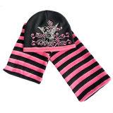 모자와 장갑 (JRK100)가 아이들에 의하여 뜨개질을 했다