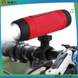 Ostenta o altofalante do bluetooth da bicicleta da bicicleta com luz do diodo emissor de luz do banco da potência para ao ar livre