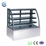 Réfrigérateur en verre commercial d'étalage pour le gâteau/l'étalage frigorifié par dessert (KT760A-S2)