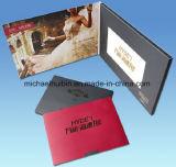 Crear el libro video de la invitación para requisitos particulares de la promoción de la pantalla de 5inch LCD (VC-050)
