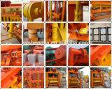 Qtj4-40機械装置を作るHollow&Paverの具体的な煉瓦作成機械かブロック