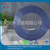 Luz transparente padrão - o azul vê completamente a tira Rolls do PVC da cortina de porta