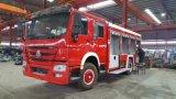 HOWO 4X2 8cbm 화재 싸움 트럭
