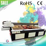 2017 최고 판매 유리제 UV 평상형 트레일러 인쇄 기계